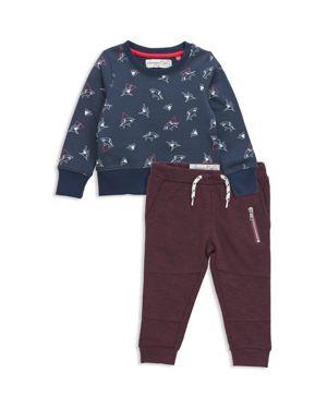 Sovereign Code Boys' Shark Print Sweatshirt & Joggers Set - Baby