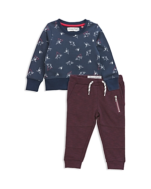 Sovereign Code Boys' Shark Print Sweatshirt & Joggers Set - Baby