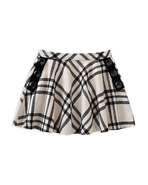 kate spade new york Girls Plaid Skirt with Button Details  Big Kid