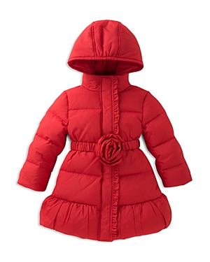 kate spade new york Girls Rosette Puffer Coat  Big Kid