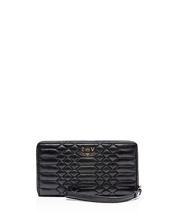 Zadig & Voltaire - Compagnon Savage Embossed Leather Wallet