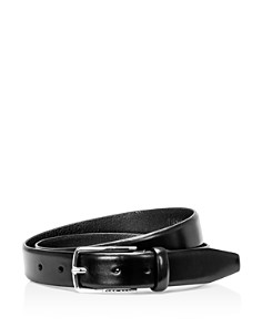 BOSS Hugo Boss Chuck Hand Brushed Leather Belt - Bloomingdale's_0