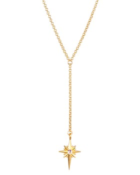 """Dogeared - Kaleidoscope North Star Y Necklace, 32"""""""