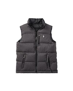 Ralph Lauren Childrenswear Boys Reversible Puffer Vest  Big Kid