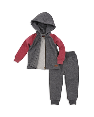 7 For All Mankind Boys Hoodie Tee  Joggers Set  Little Kid