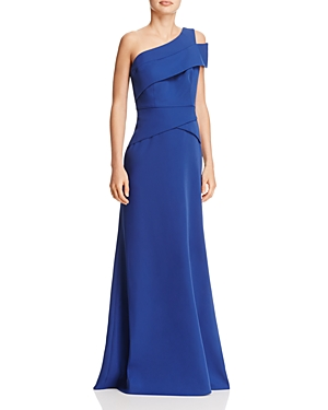 Bcbgmaxazria One-Shoulder Gown at Bloomingdale's