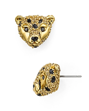 kate spade new york Cheetah Stud Earrings