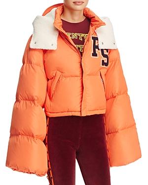 Fenty Puma x Rihanna Bell-Sleeve Puffer Jacket