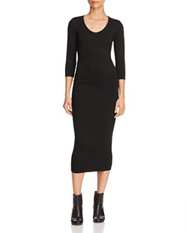 Michael Stars - Ruched Midi Dress