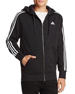 adidas Originals Essentials 3-Stripe Zip Hooded Sweatshirt