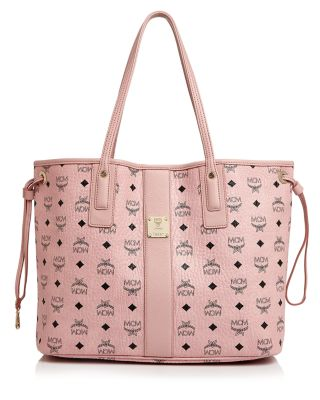 Shopper Project Visetos Soft Pink Medium Reversible Tote Bag