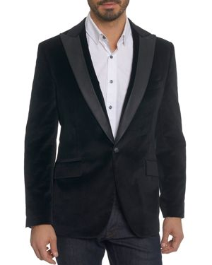 Robert Graham Richter Velvet Blazer