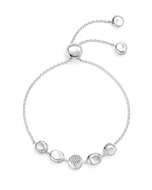 Click here for Ippolita Sterling Silver Onda Pave Diamond Chain B... prices