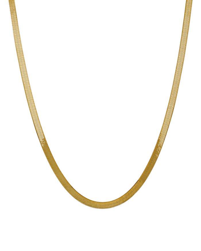 Bloomingdale's 14K Yellow Gold 5mm Herringbone Chain Necklace - 100% Exclusive  | Bloomingdale's