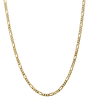 Bloomingdale's 14K YELLOW GOLD 4MM FLAT FIGARO CHAIN NECKLACE, 18 - 100% EXCLUSIVE