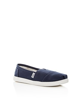 TOMS - Unisex Seasonal Classic Canvas Flats - Baby, Walker, Toddler, Little Kid, Big Kid