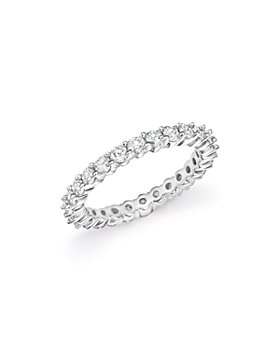 Bloomingdale's - Diamond Eternity Band in 14K White Gold, 1.0-2.0 ct. t.w. - 100% Exclusive
