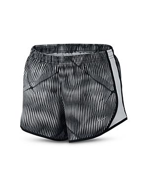 Nike Girls Printed Running Shorts  Big Kid