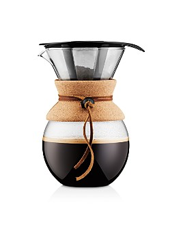 Bodum - 34oz Cork Pour Over Coffee Maker
