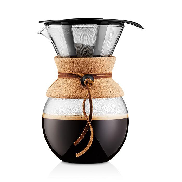 Bodum - 34oz Cork Pour Over Coffee Maker