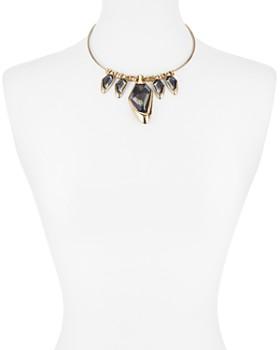 "Robert Lee Morris Soho - Round Wire Collar Necklace, 18"""