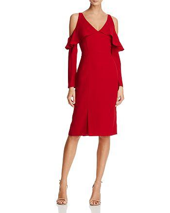 Adelyn Rae - Sheila Cold-Shoulder Dress
