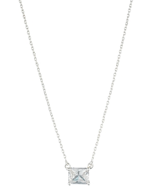 Lauren Ralph Lauren Rectangle Pendant Necklace, 16