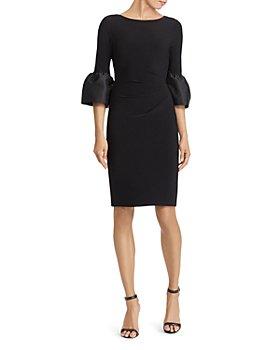 Ralph Lauren - Taffeta-Jersey Dress