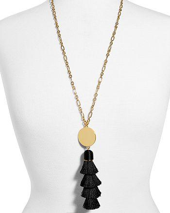 "BAUBLEBAR - Tahira Tassel Pendant Necklace, 29"""
