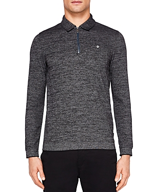Ted Banker Frannk Textured Jersey Regular Fit Polo