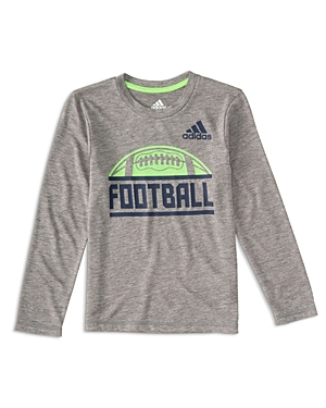 Adidas Boys' Long-Sleeve Football Tee - Little Kid