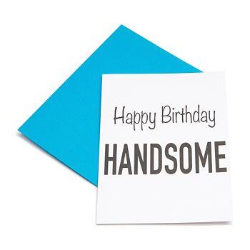 Los Angeles Trading Company - Happy Birthday Handsome Card