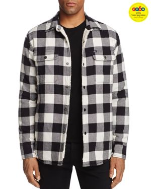Obey Buffalo Plaid Sherpa Shirt Jacket - GQ60, 100% Exclusive