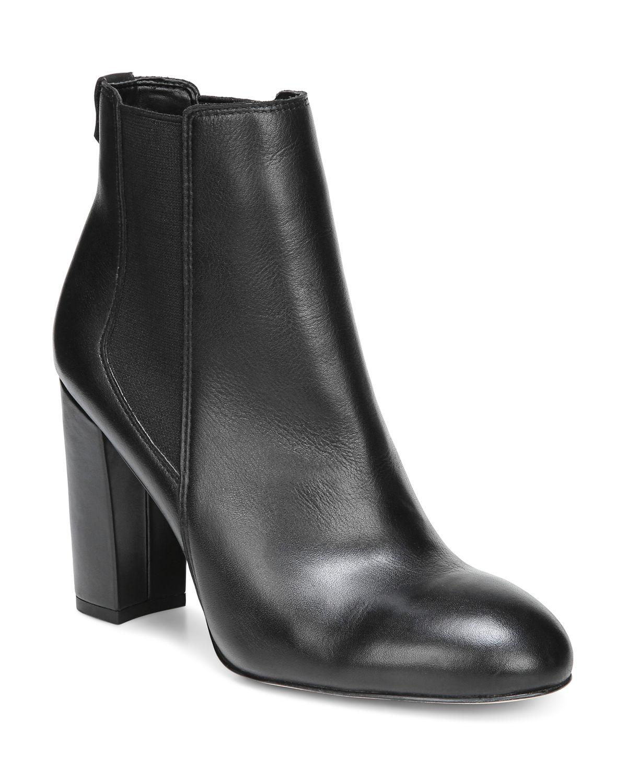 Sam Edelman Women's Case Leather High-Heel Chelsea Booties