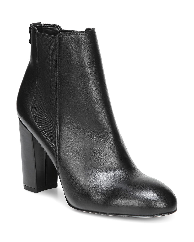 Sam Edelman Women's Case Leather High-Heel Chelsea Booties Rl9Y5zW