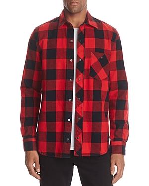 Hudson Weston Buffalo Plaid Shirt Jacket