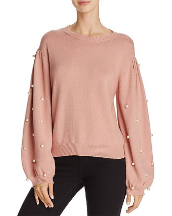 Sunset & Spring - Faux Pearl Sweater - 100% Exclusive