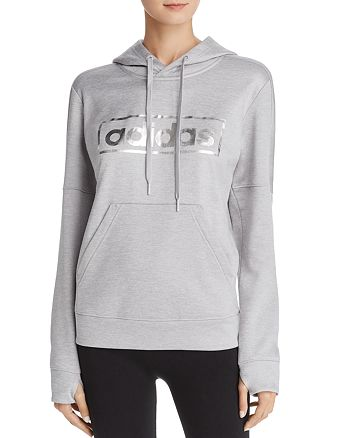 Adidas - Foiled Logo Pullover Hoodie
