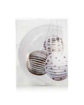 Meri Meri - Silver Foil Paper Globes, Pack of 3