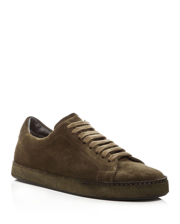 Vince Men's Noble Suede Lace Up Sneakers