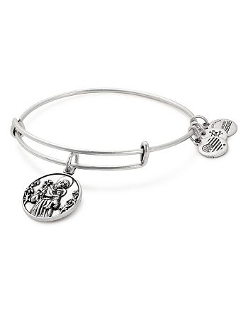 Alex and Ani - St. Anthony Expandable Wire Bangle
