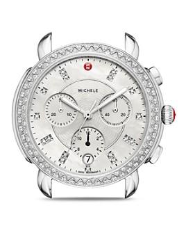 MICHELE - Sidney Diamond Watch Head, 38mm