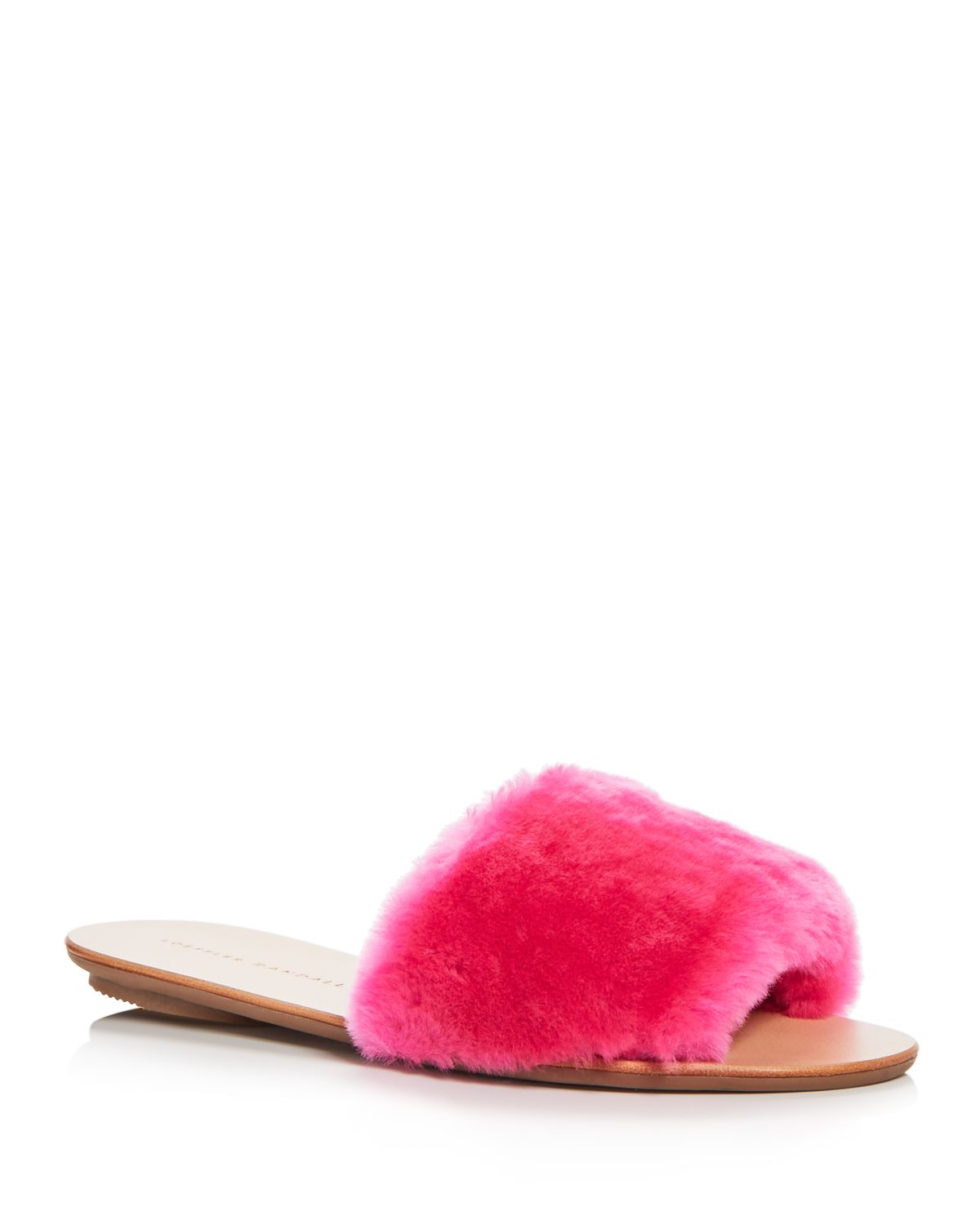 Loeffler Randall Women's Isabel Shearling Slide Sandals