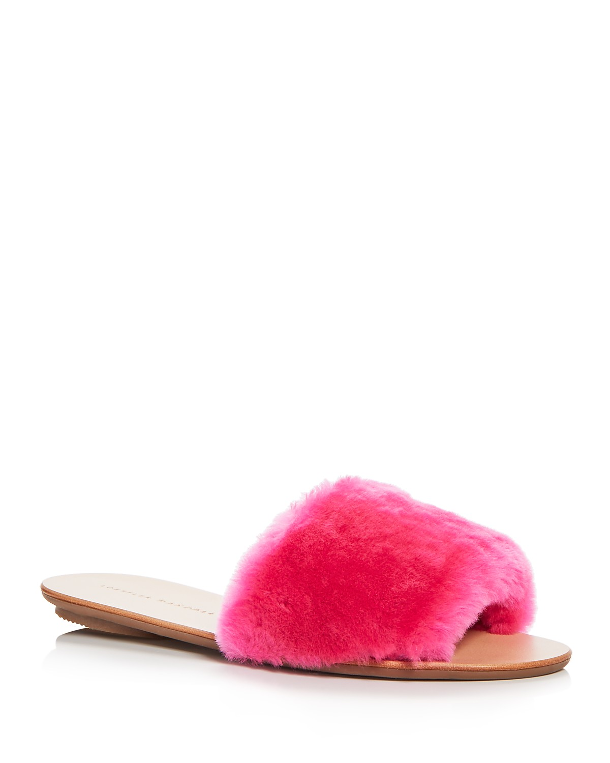 Loeffler Randall Women's Isabel Shearling Slide Sandals Brhyi5