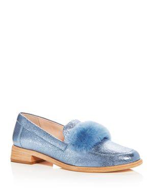 Loeffler Randall Women's Greta Shearling & Leather Loafers