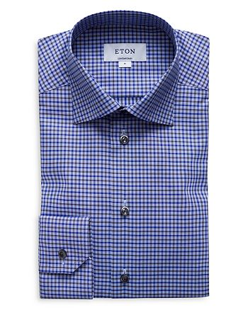 Eton - Multi Check Regular Fit Dress Shirt
