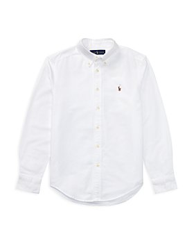 Ralph Lauren - Boys' Cotton Oxford - Little Kid, Big Kid