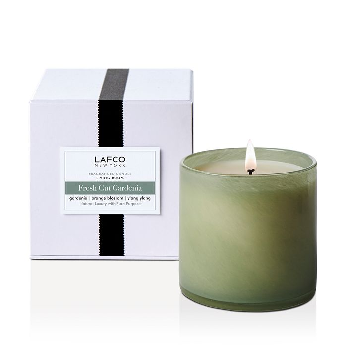 LAFCO - Fresh Cut Gardenia Living Room Candle 15.5 oz