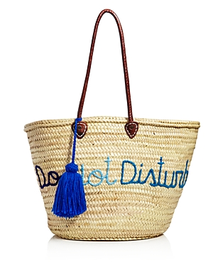 Soeur Du Maroc Do Not Disturb Straw Tote