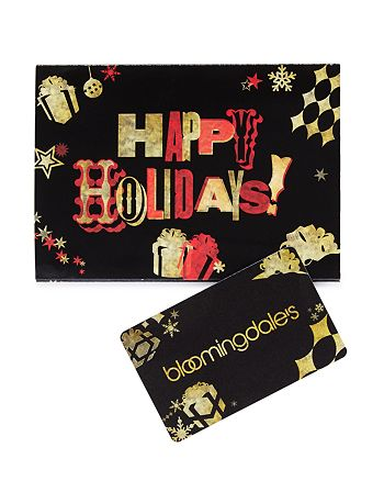 Bloomingdale's - Happy Holidays Gift Card
